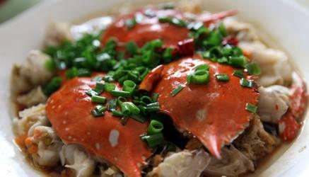 葱油蟹_螃蟹的做法大全:教你40种如何做螃蟹的方法第3张