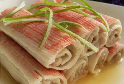 蟹肉卷_螃蟹的做法大全:教你40种如何做螃蟹的方法第27张