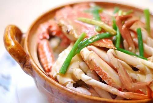 冬瓜花蟹滑鸡煲_螃蟹的做法大全:教你40种如何做螃蟹的方法第29张