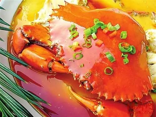 梅子蒸蟹_螃蟹的做法大全:教你40种如何做螃蟹的方法第34张
