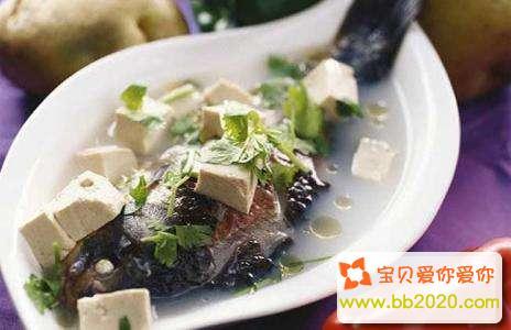 孕妇最下奶的鲫鱼豆腐汤的做法大全第1张