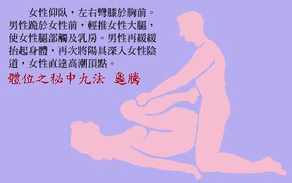 体位之秘中九法:飞腾_素女经房中九术(全部图片)配文第5张