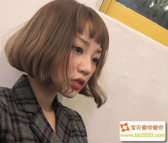 2018减龄又时髦的短发发型图片第1张