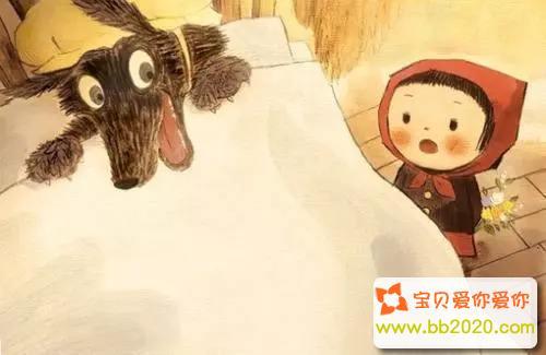 格林童话小红帽的故事原版第1张