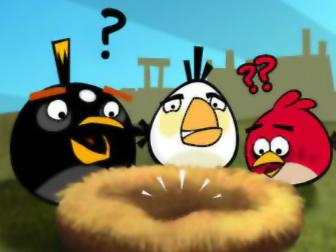 愤怒的小鸟小游戏_疯狂的小鸟_愤怒的小鸟HD2.6版_射击小游戏_宝贝爱你爱你