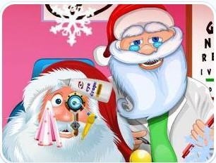 圣诞老人配眼镜