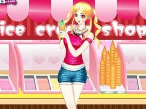 冰激凌女孩