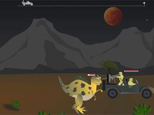 逃脱恐龙追击
