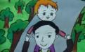 父亲节儿童画图片大全_关于父亲节的儿童画作品