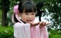 樱花小萝莉汉服萌照走红 网友:好想生个女儿(组图)