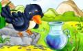 乌鸦喝水故事中乌鸦能否喝到水与瓶子形状无关 难道是骗人的?(图)