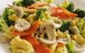增强孩子免疫力抵抗力食谱:西兰花口蘑炒鸡蛋