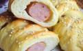 孩子最爱吃的营养早餐:香肠小面包的做法